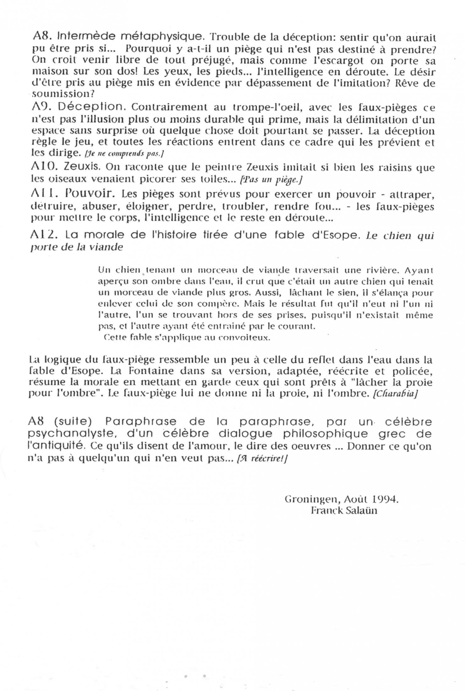 Texte Franck Salaun (Suite)