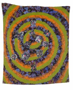 Dans la spirale des fleurs