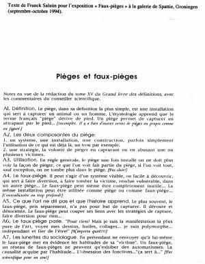 Texte Franck Salaun